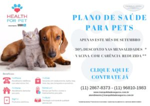 cama-pet-cachorro-gato-plano-saude-health-for-pets-tranquilidade-seguros