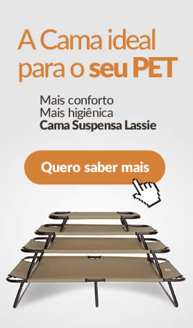 Cama ideal para Pets - lassie