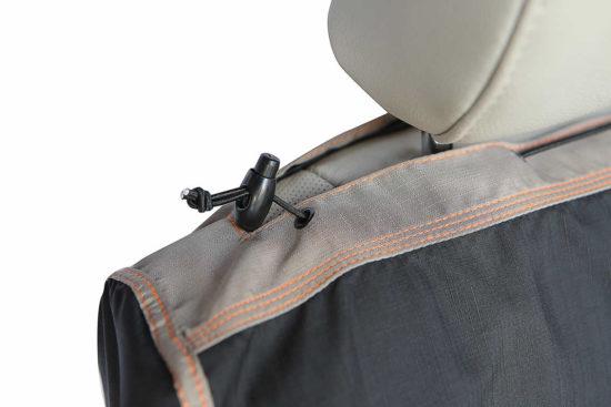 Capa para Pets no banco da frente de carro Detalhes