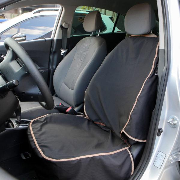 Capa para banco da frente de carro pets